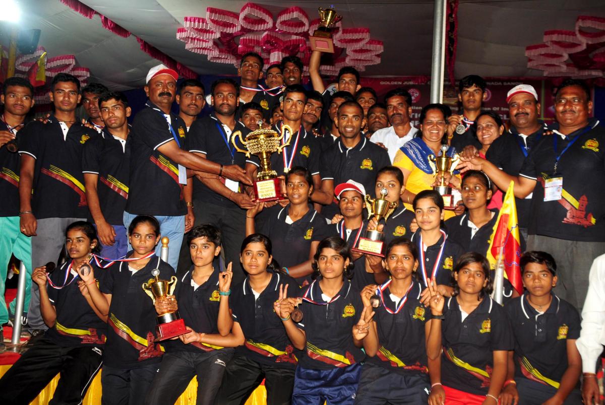 Karnataka bags national cycling championship