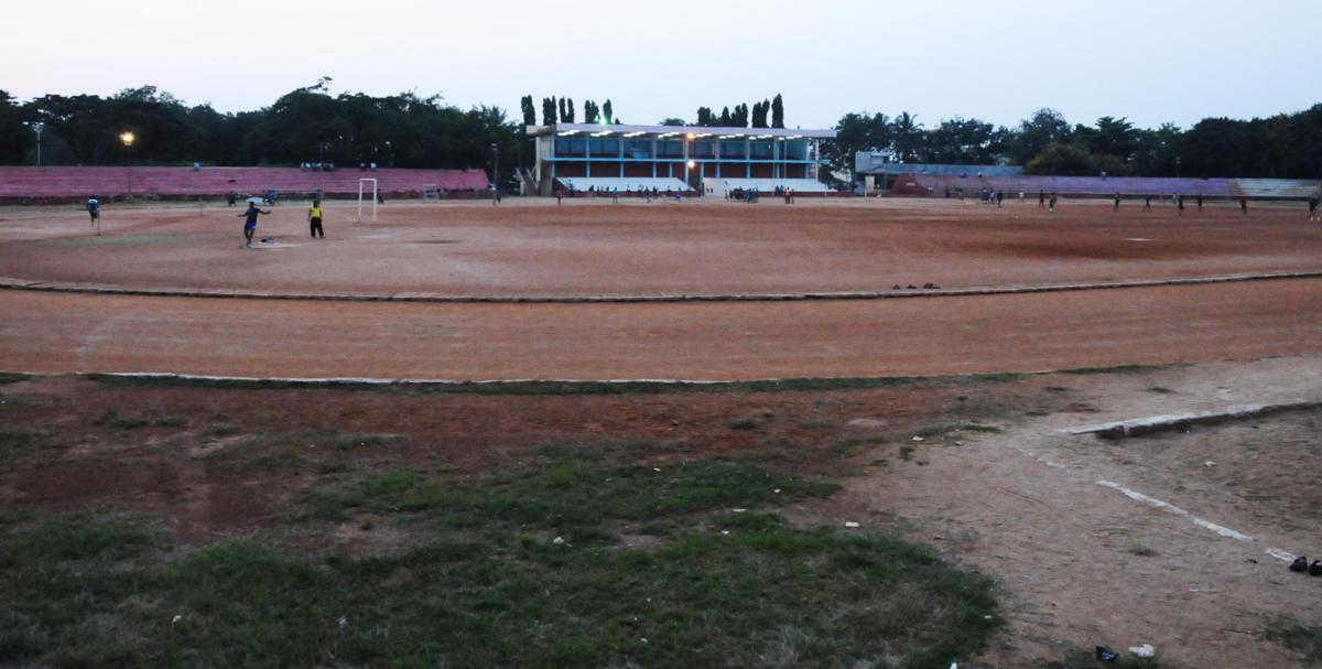 Athletes, coaches seek high-mast lights for district stadium