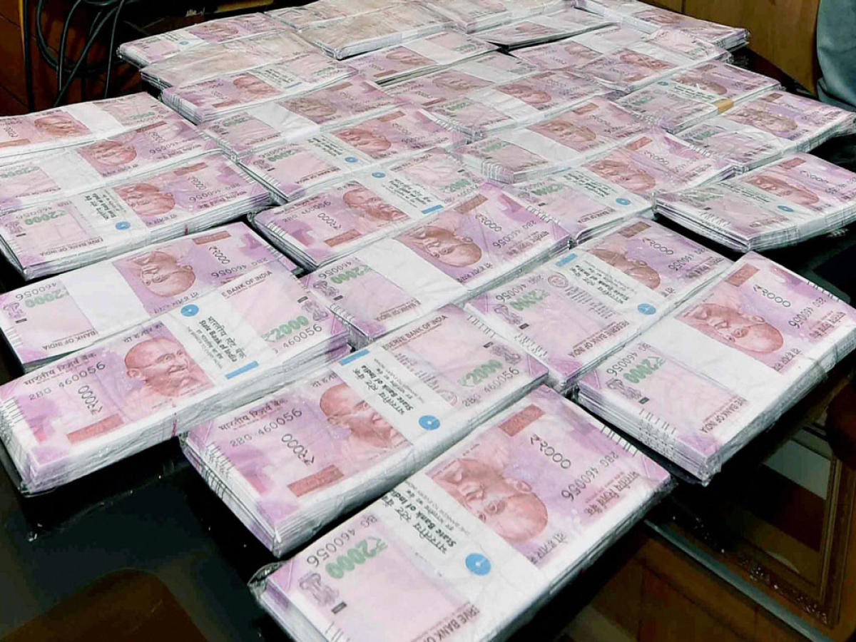 Fake notes found in shoe soles, man arrested