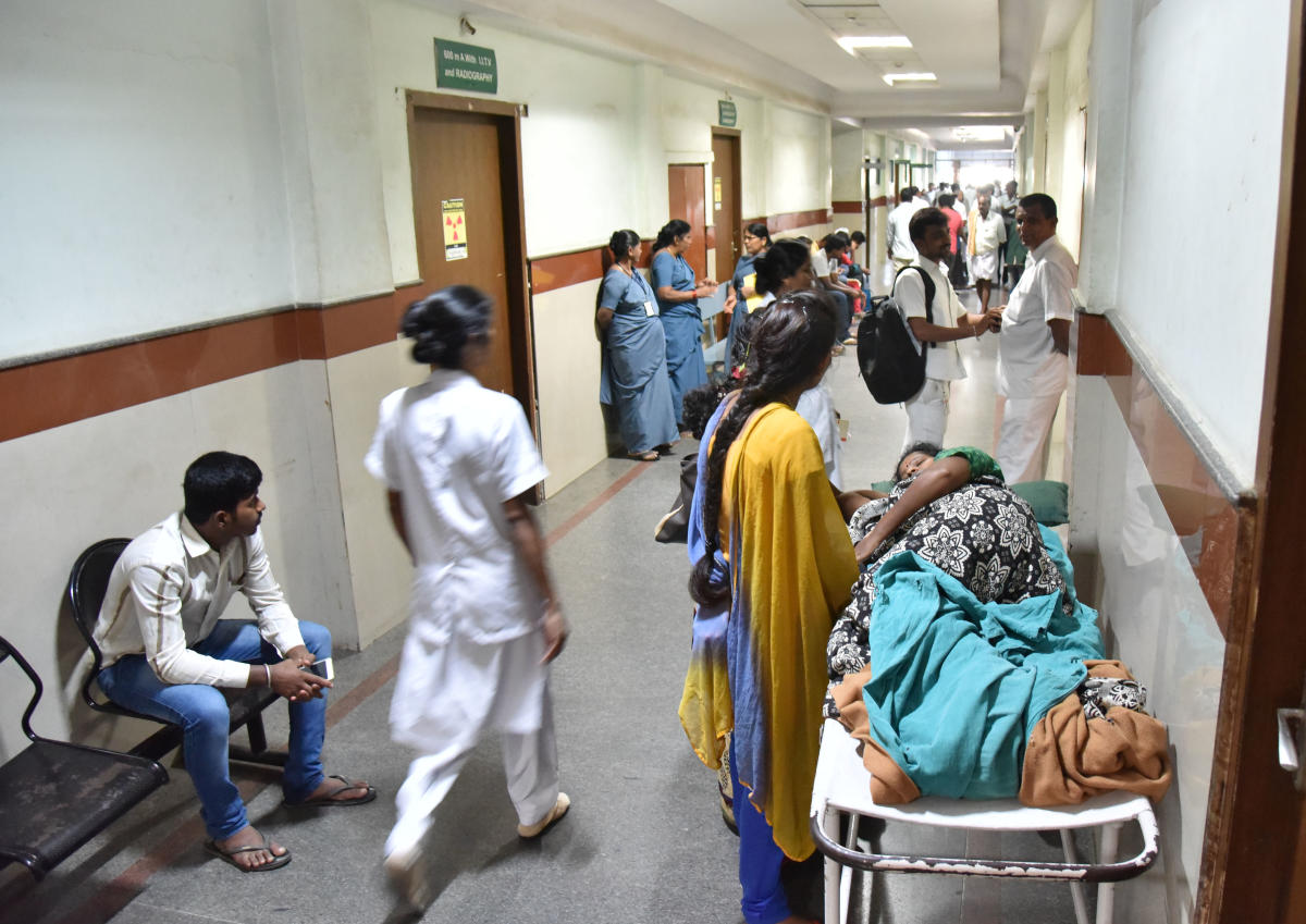 Pvt hospitals suspend OPD services, one dead
