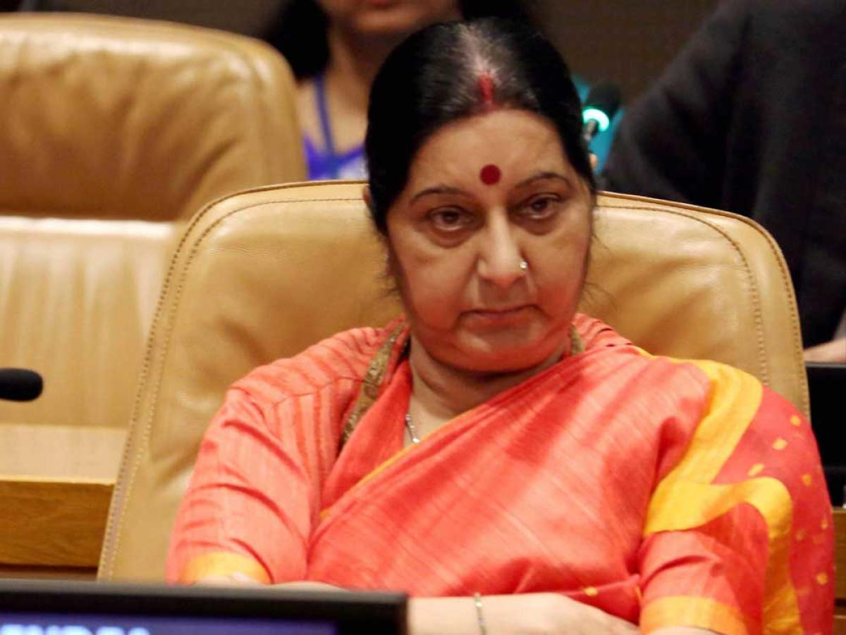 Swaraj asks Indian embassy in US for report on beating of Sikh boy