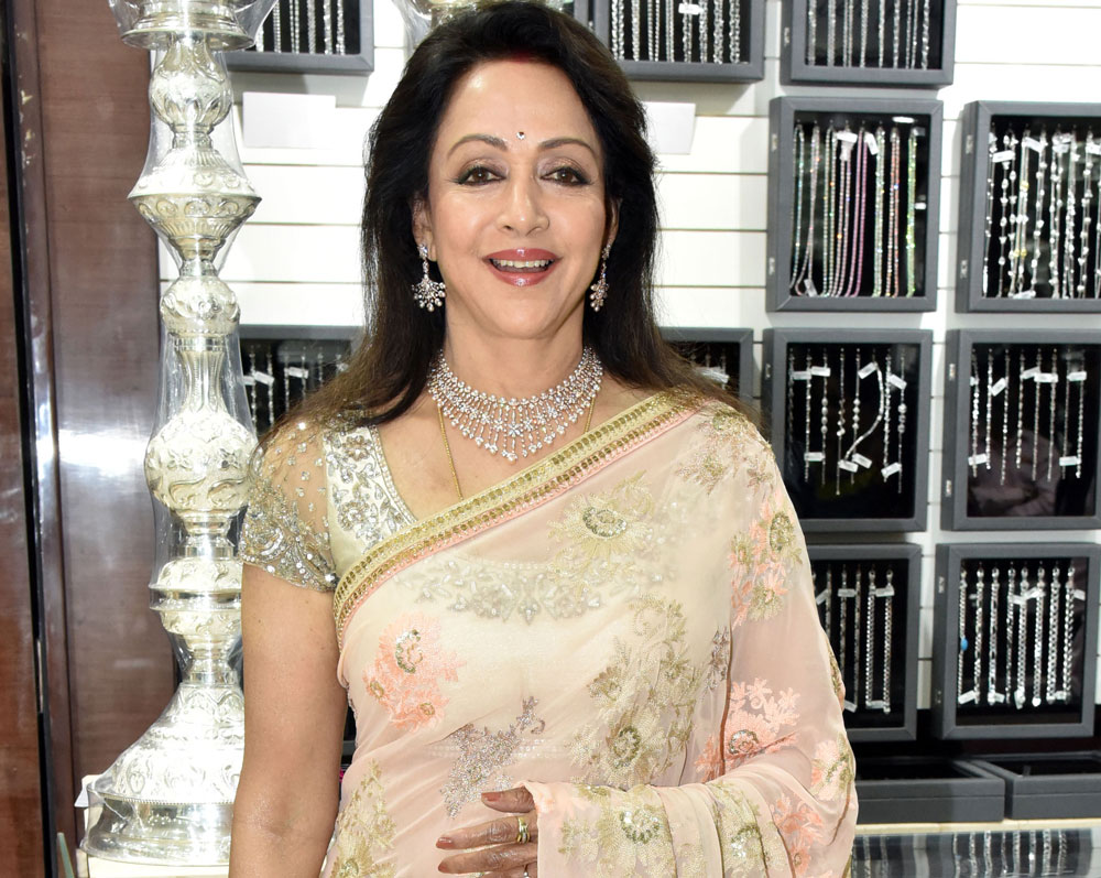 Station manager suspended after Hema Malini escapes bull