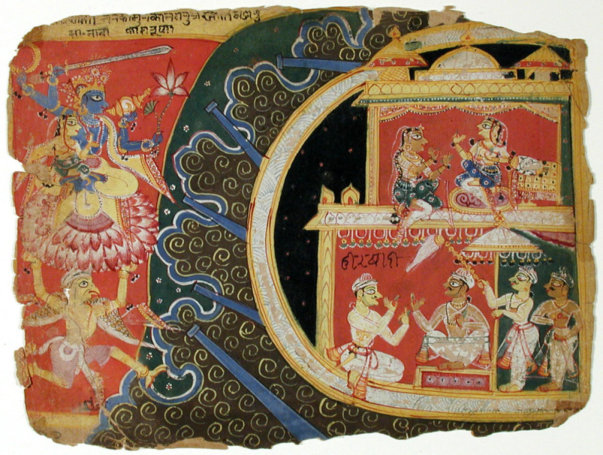 In San Diego, many Indian paintings