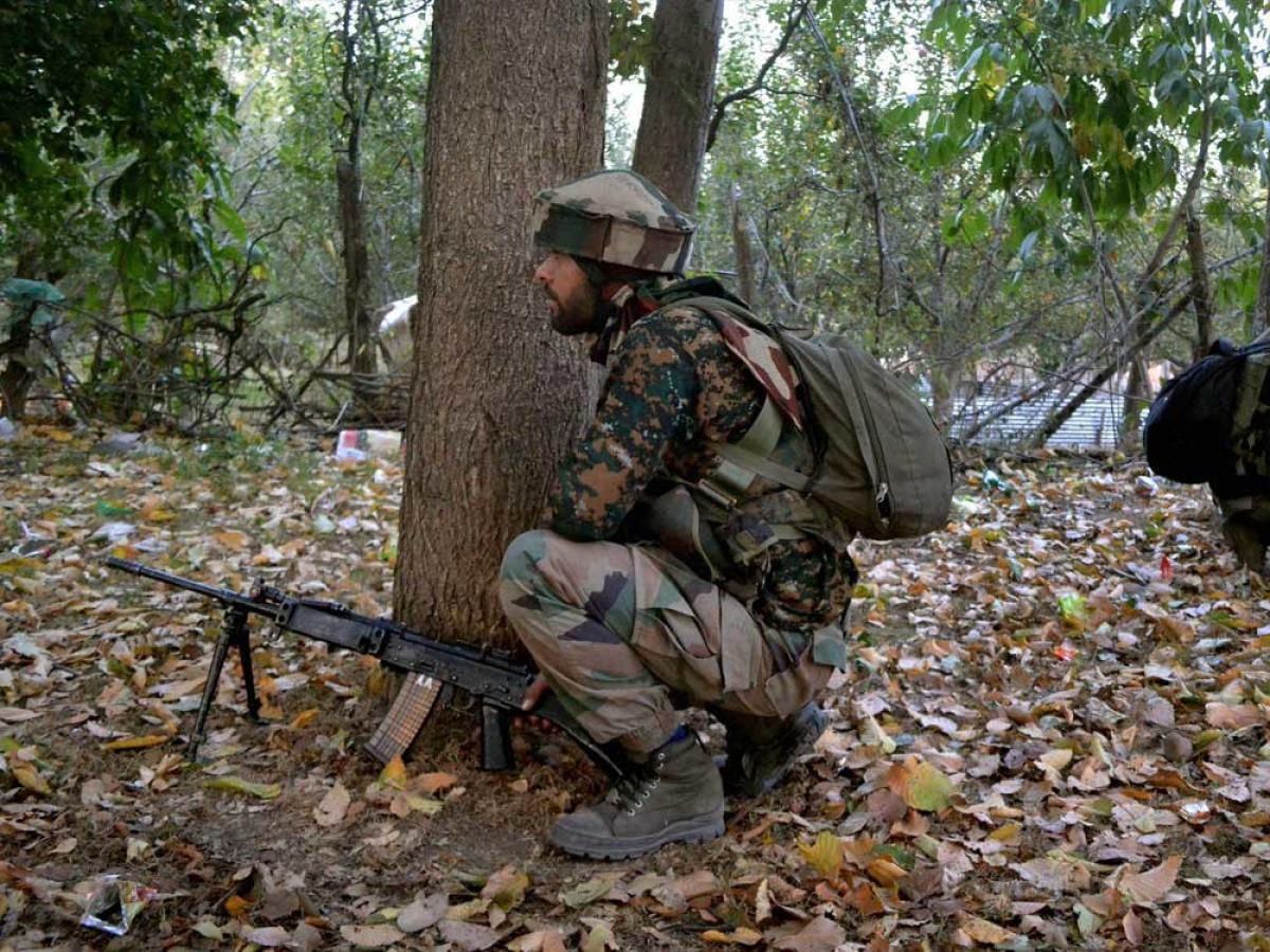 Army foils infiltration bid, two militants killed