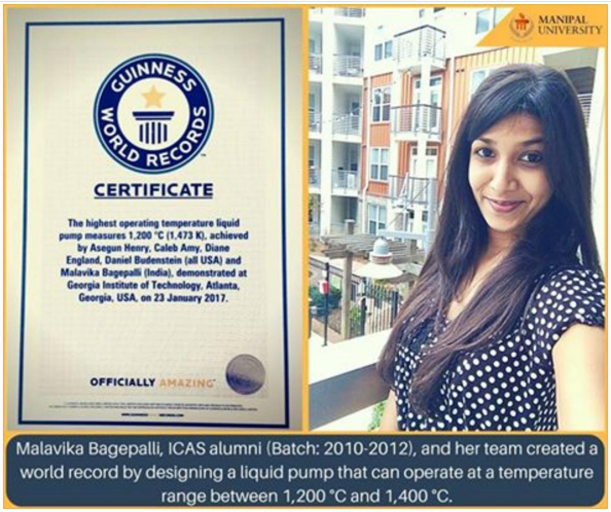 Manipal ICAS alumnus in Guinness World Records