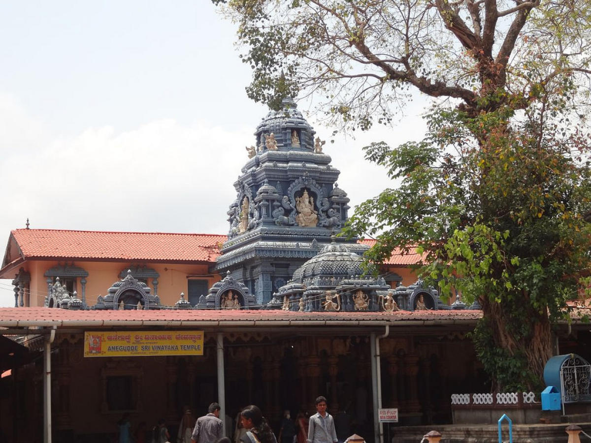 A quaint temple on a hilltop