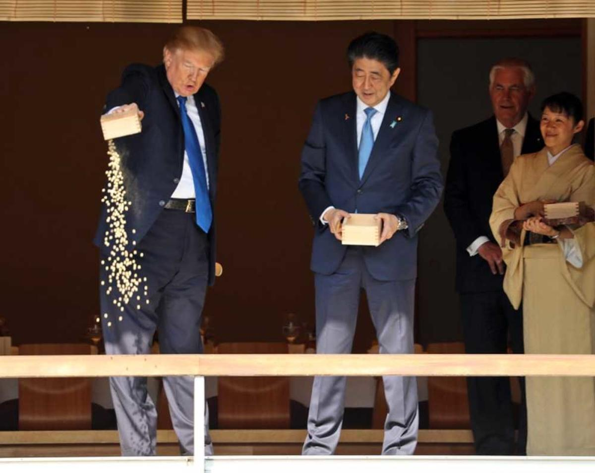 Trump dump delights peckish Japanese fish, outrages Twitter