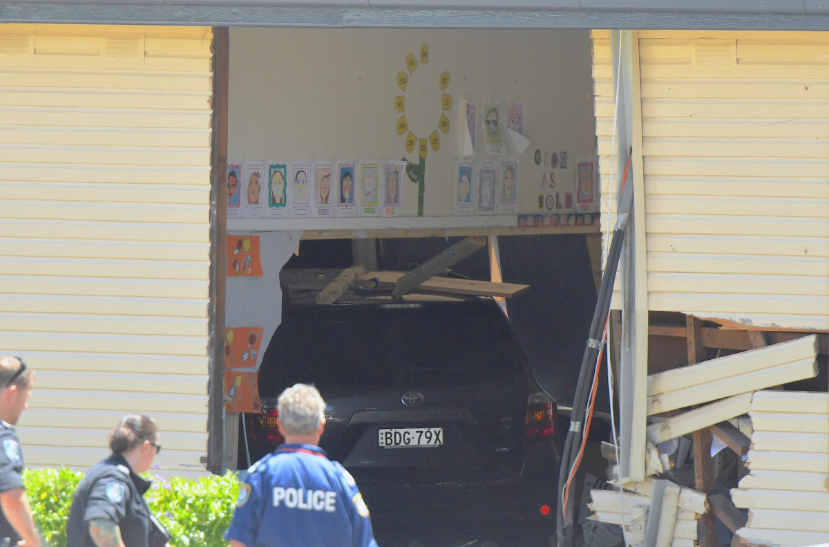 Two children die as car ploughs into Australia classroom
