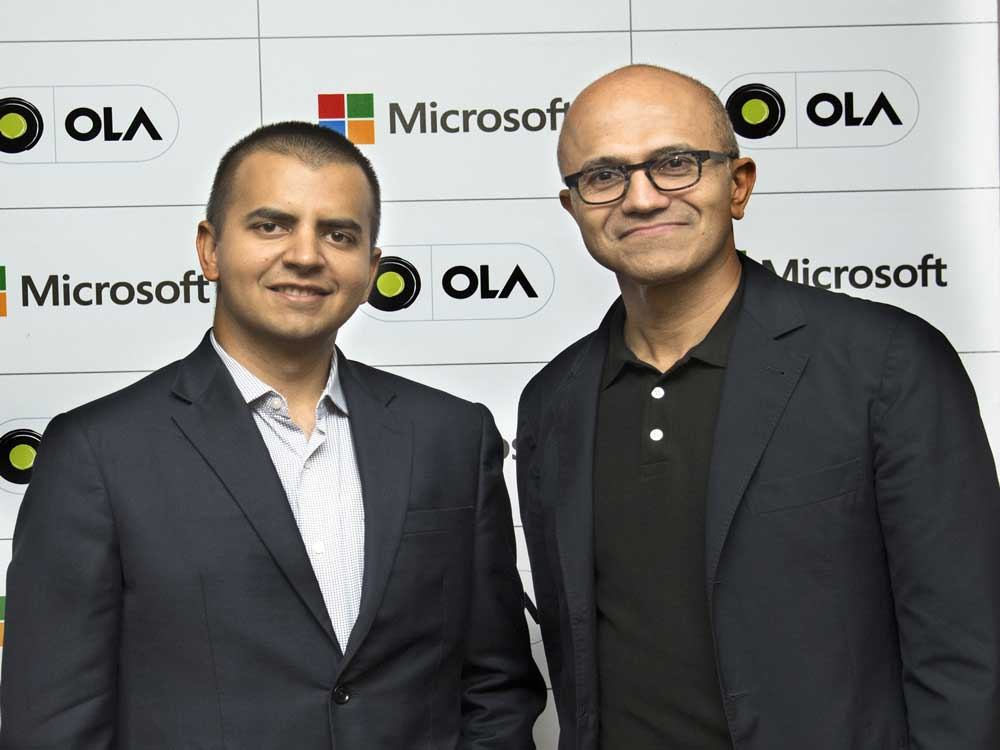 Ola, Microsoft to jointly build connected platform for carmakers