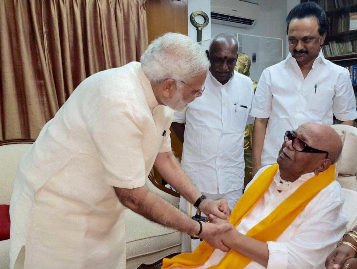 No political significance in Modi's meet with Karuna: BJP