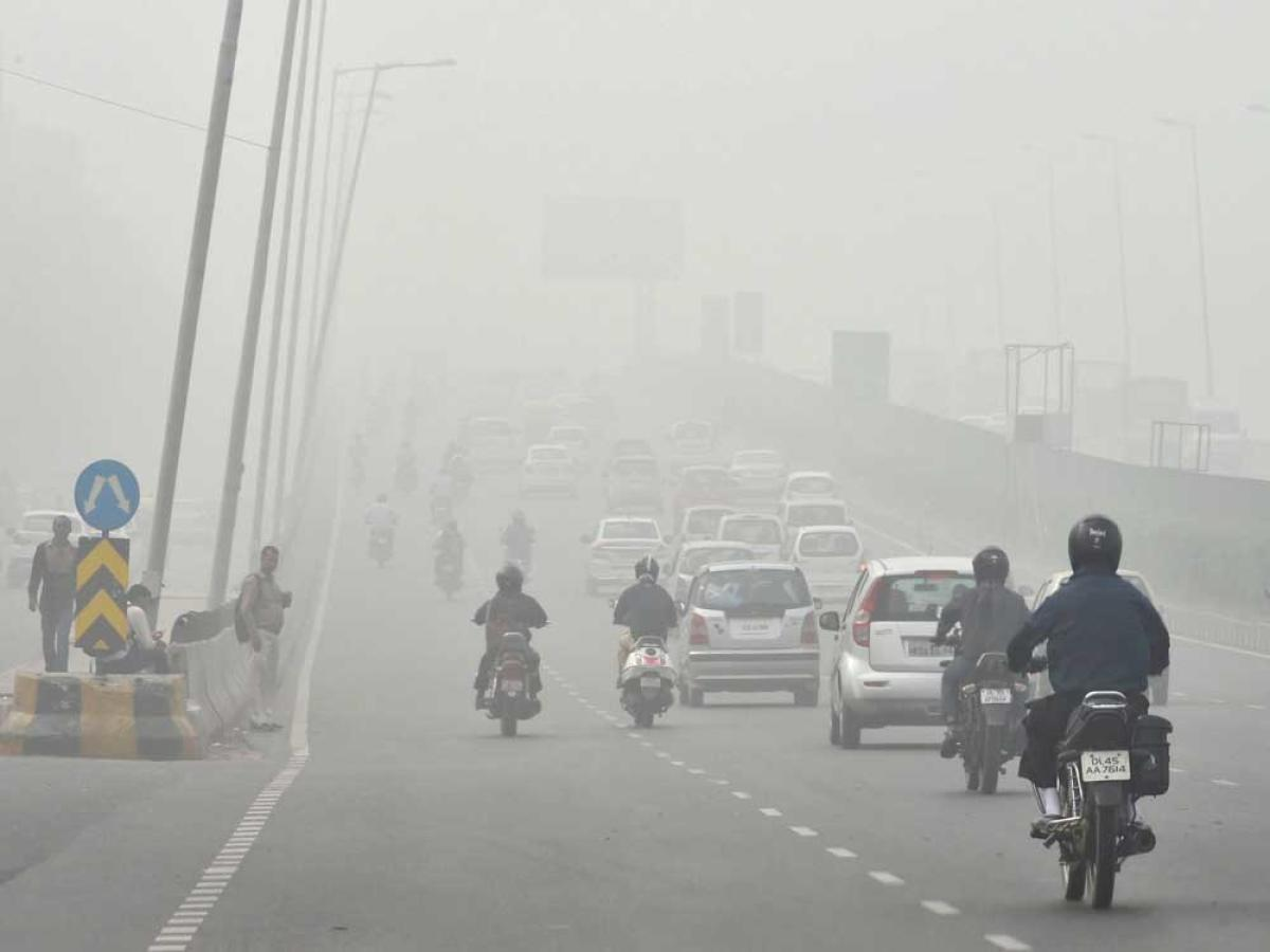 Smog turns Delhi into 'gas chamber', parking fees hiked