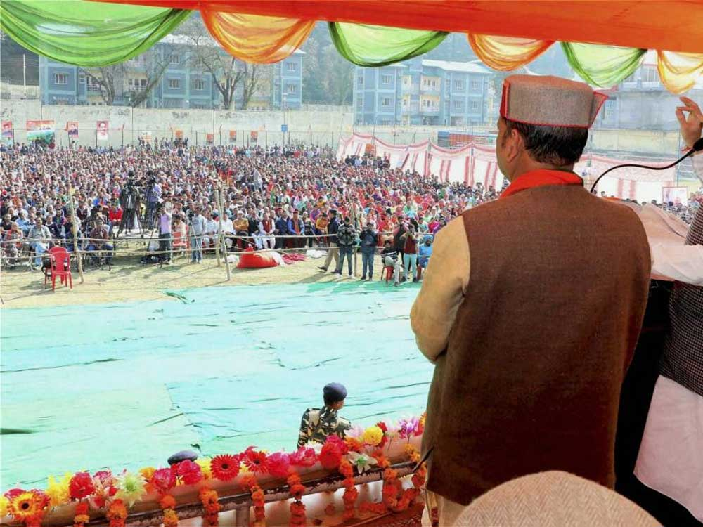 Himachal poll campaign ends