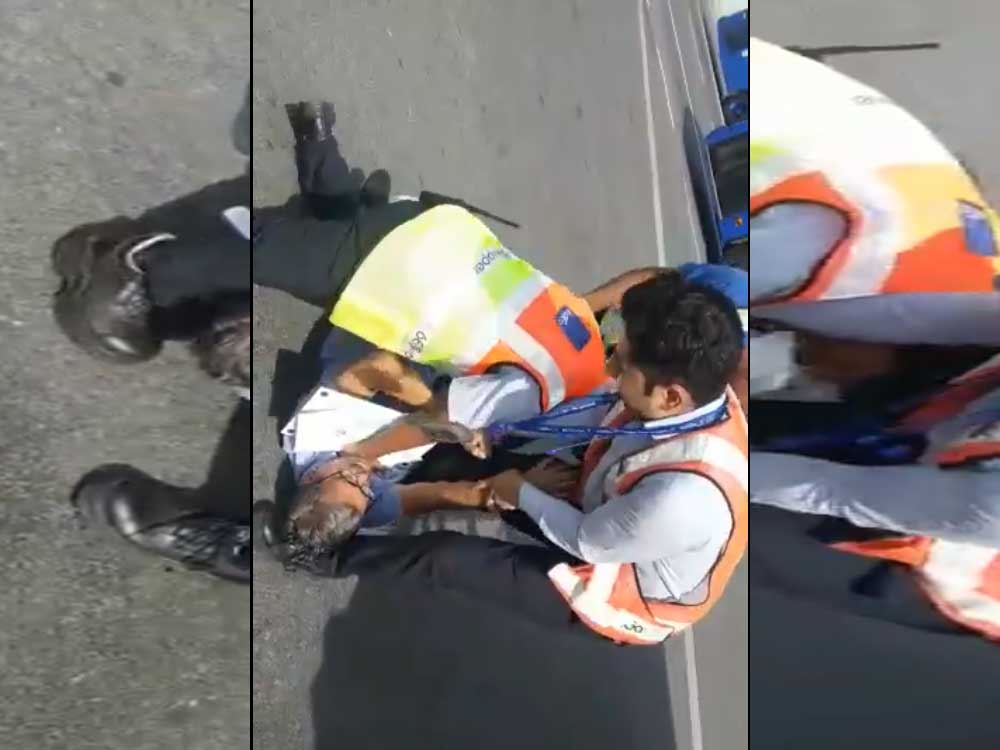IndiGo staff manhandles passenger