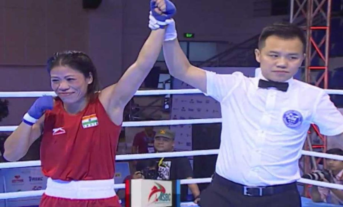 'Magnificent Mary' claims historic fifth gold at Asian C'ships