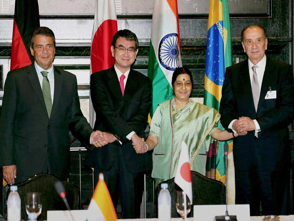 G4 nations seek swift text-based negotiations for UNSC reform
