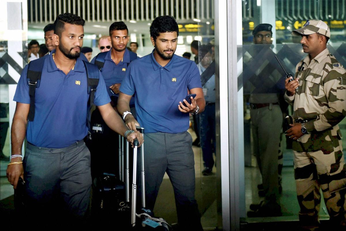 Sri Lankans arrive in Kolkata