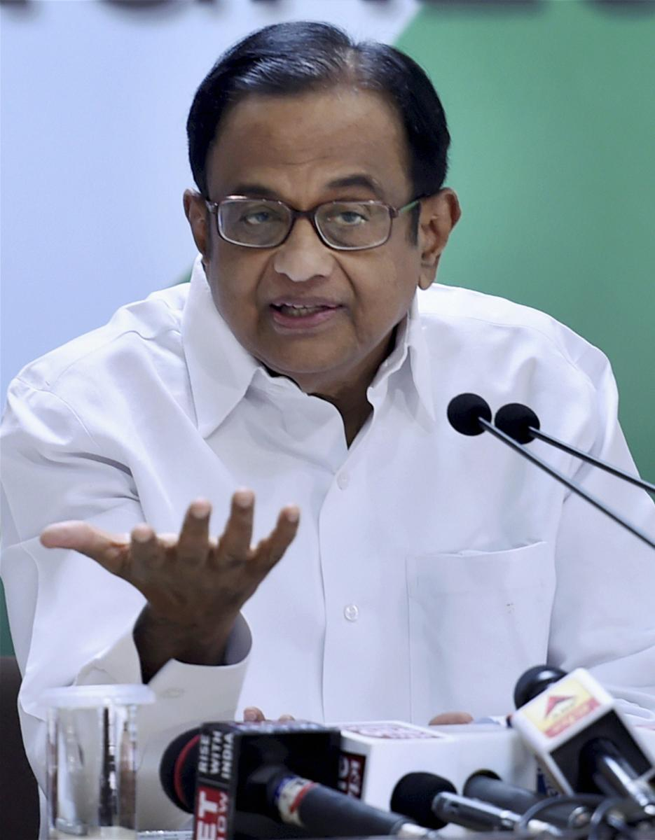 Guj polls will see black money, says Chidambaram