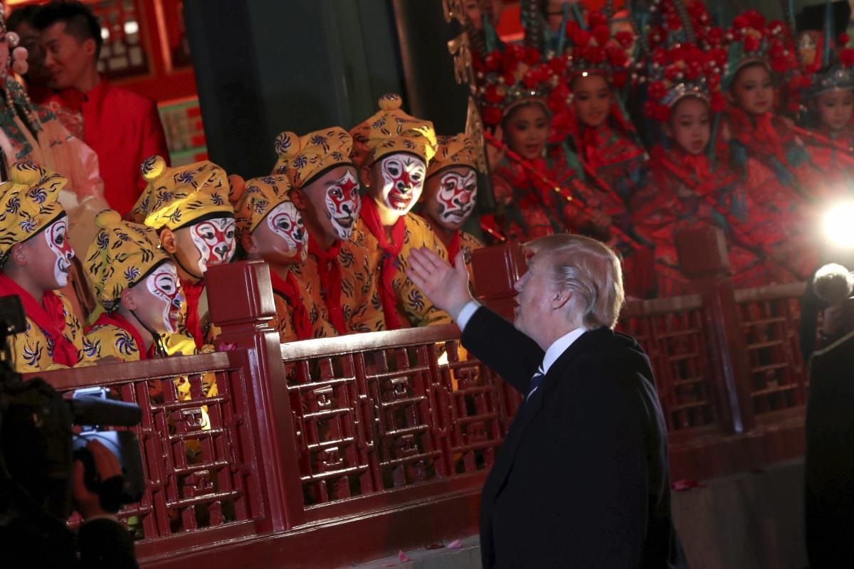 Trump jumps over China's 'Great Firewall' with first tweet