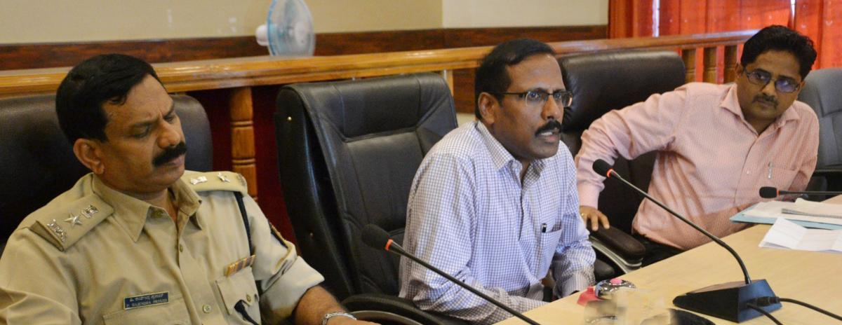 Tipu Jayanti: public need not panic, says DC