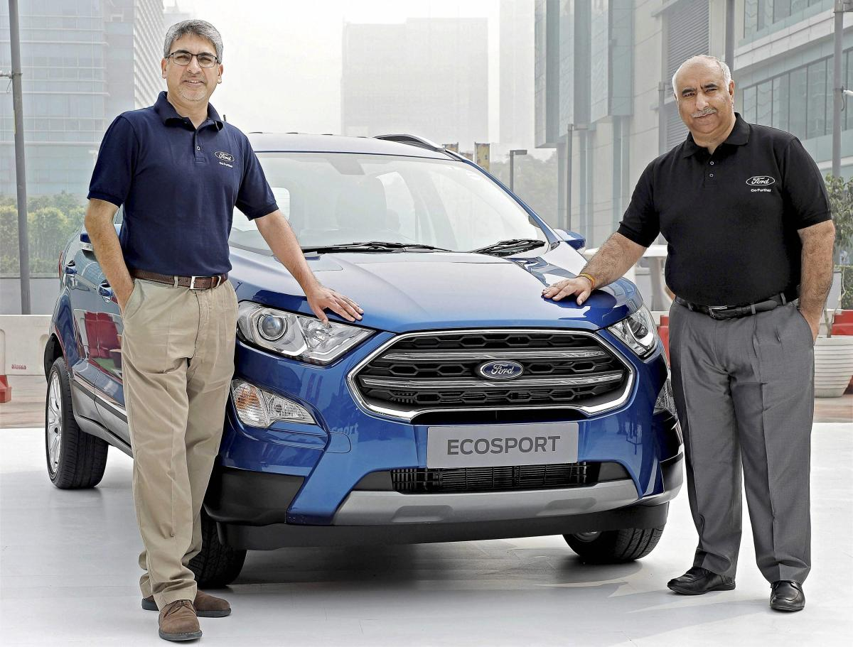 Ford launches new EcoSport priced between Rs 7.31-10.99 lakh