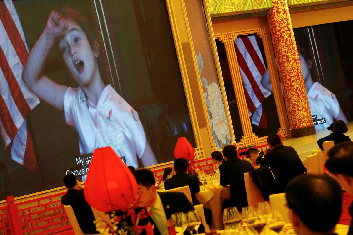 Chinese 'love' Trump's Mandarin-speaking granddaughter