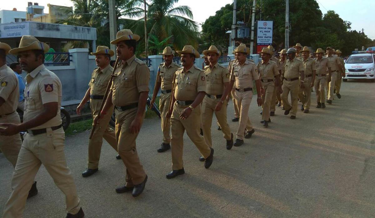 Tipu jayanti: security tighetened in Mandya dist