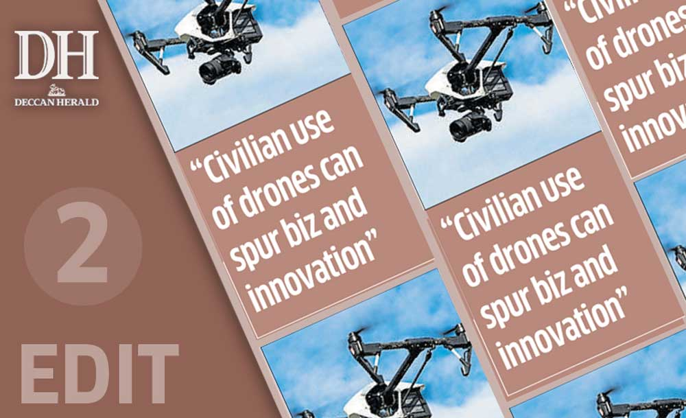 Regulate drones, but don't be overbearing