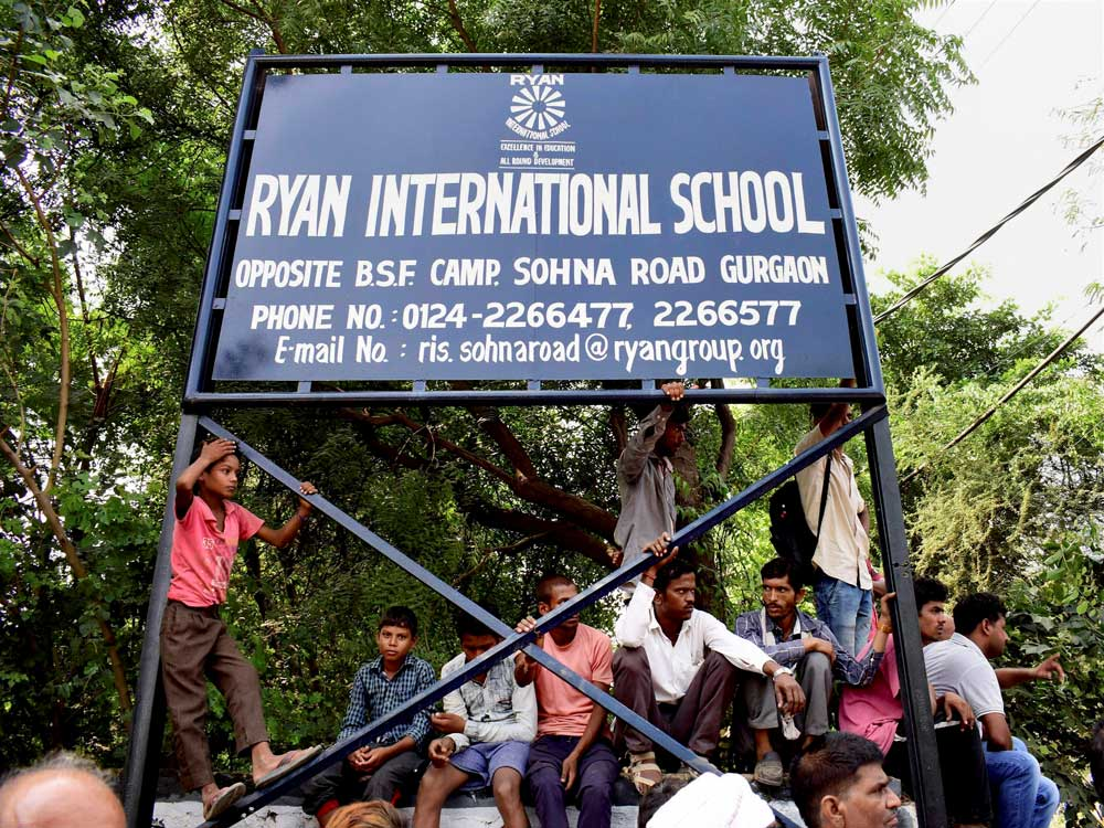 Ryan school murder: CBI attempts to reconstruct crime with accused