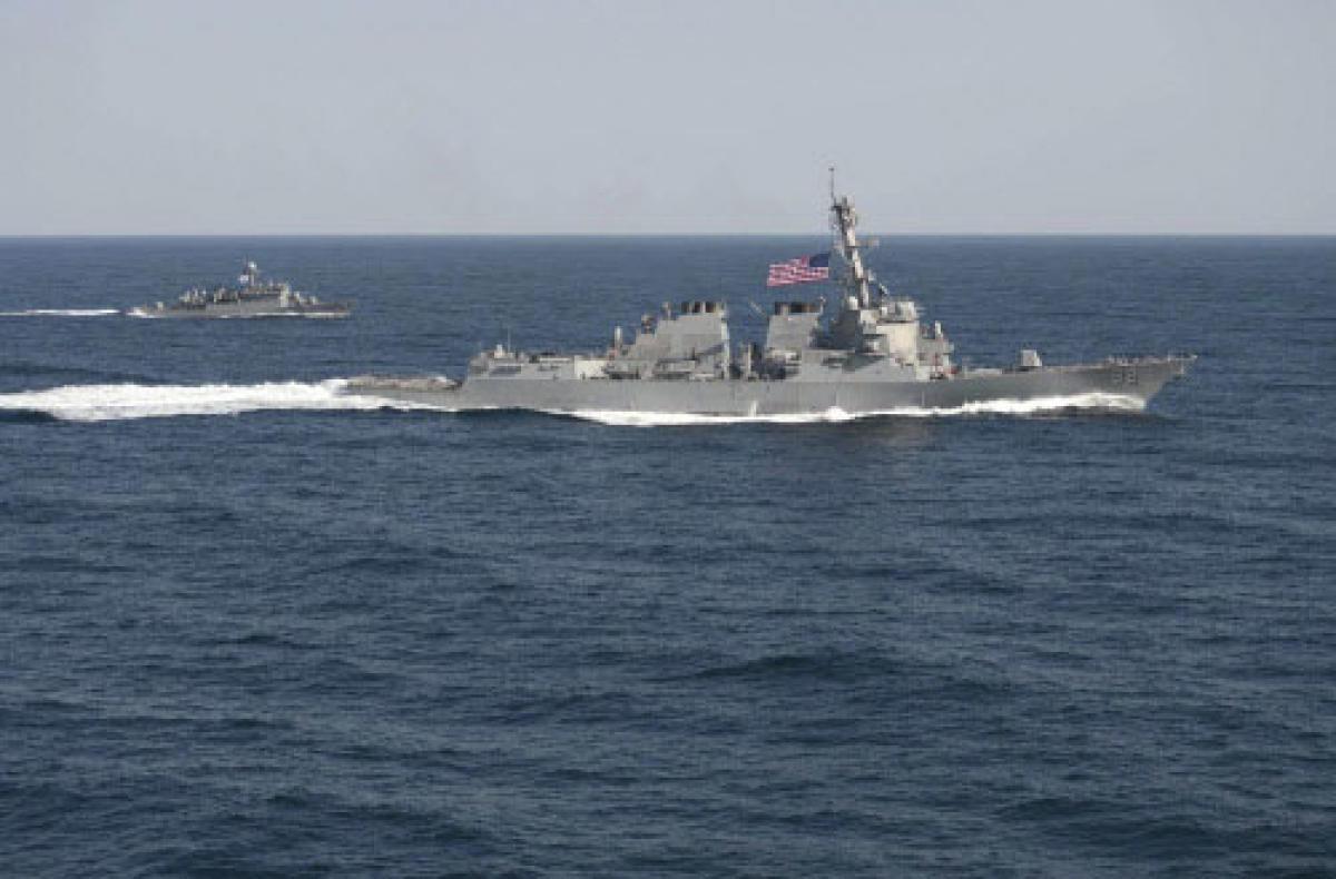 Three US carriers lead naval drill aimed at N. Korea