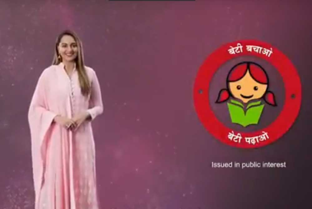 Sonakshi-Shatrughan Sinha to promote girl education