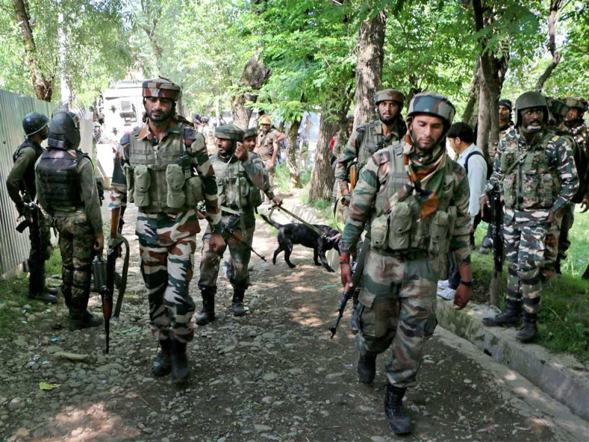 Two Assam Rifles jawans killed, six hurt in IED explosion