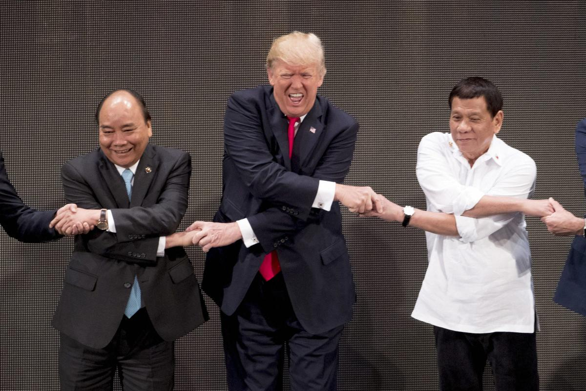 Trump hails 'great relationship' with Duterte