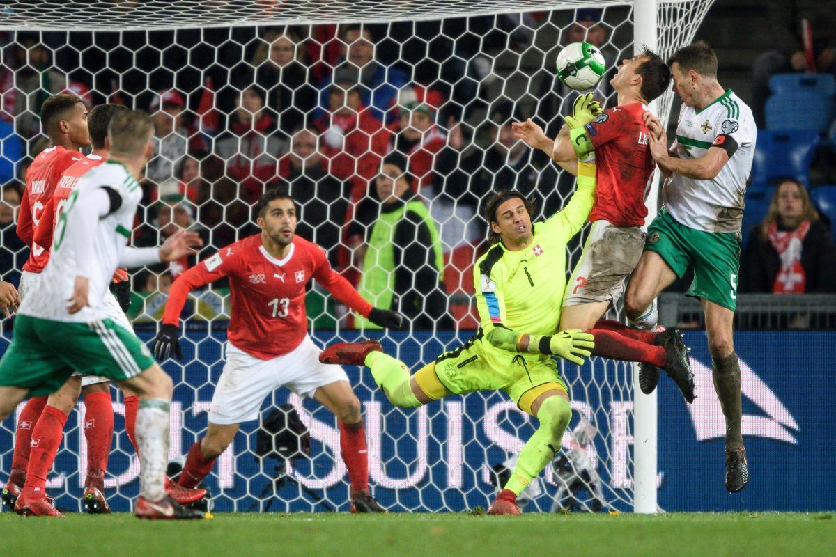 Rodriguez halts Northern Ireland as Swiss seal Russia berth
