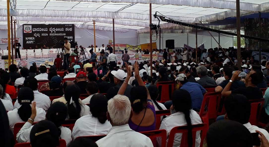 Panel submits report on KPMEA bill, ignores most demands of doctors