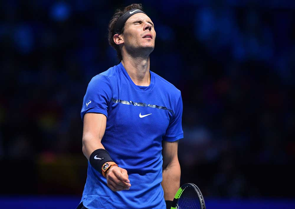Bruised Nadal pulls out after defeat
