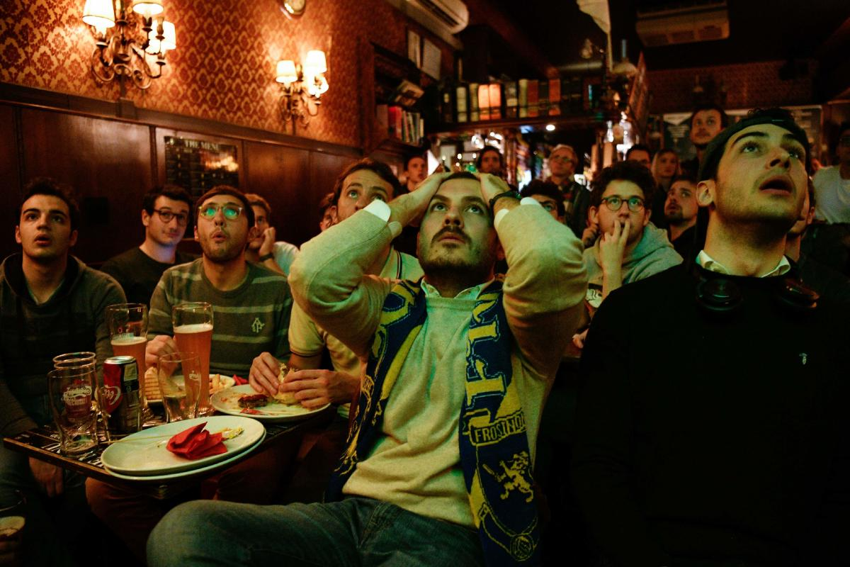 Distraught Italians embrace reality