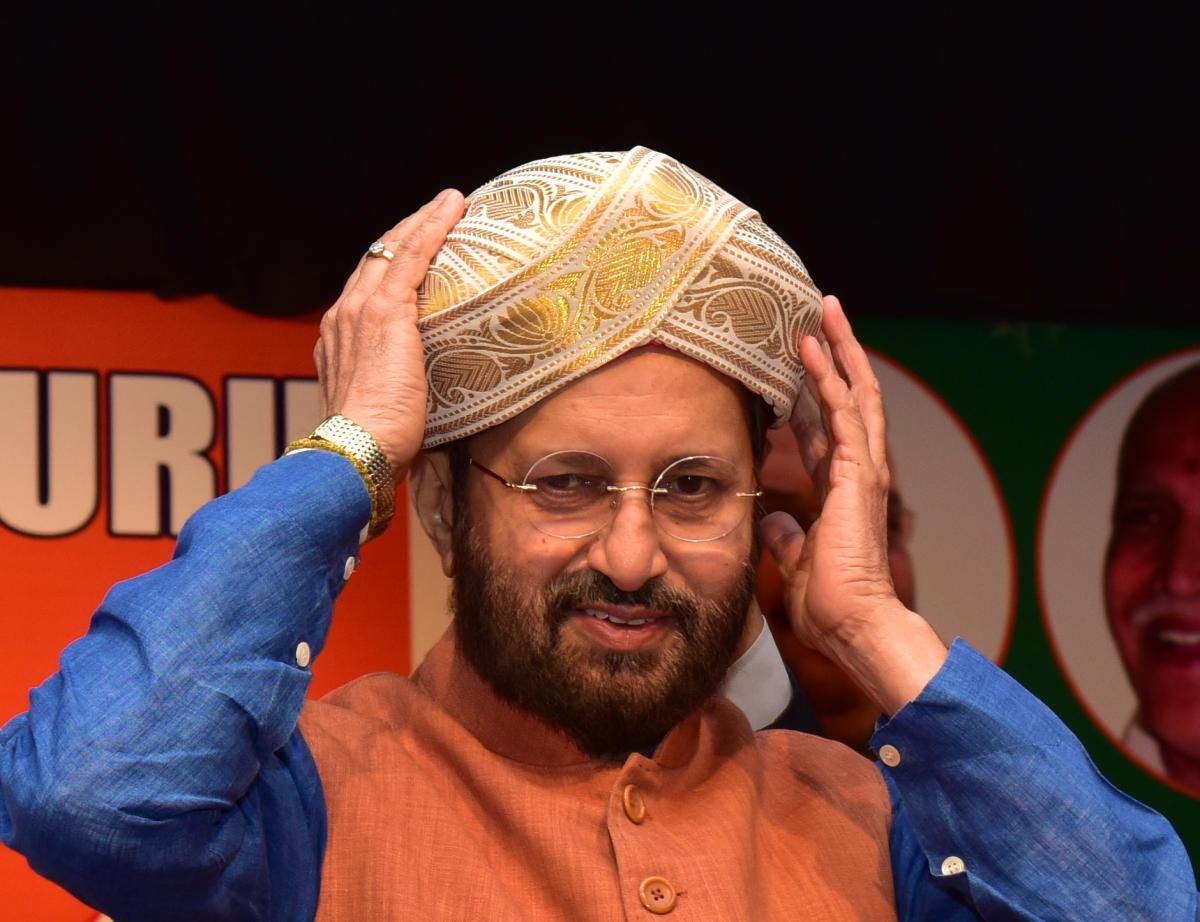 "Javadekar says confident of BJP's ""decisive victory"" in Karnataka"
