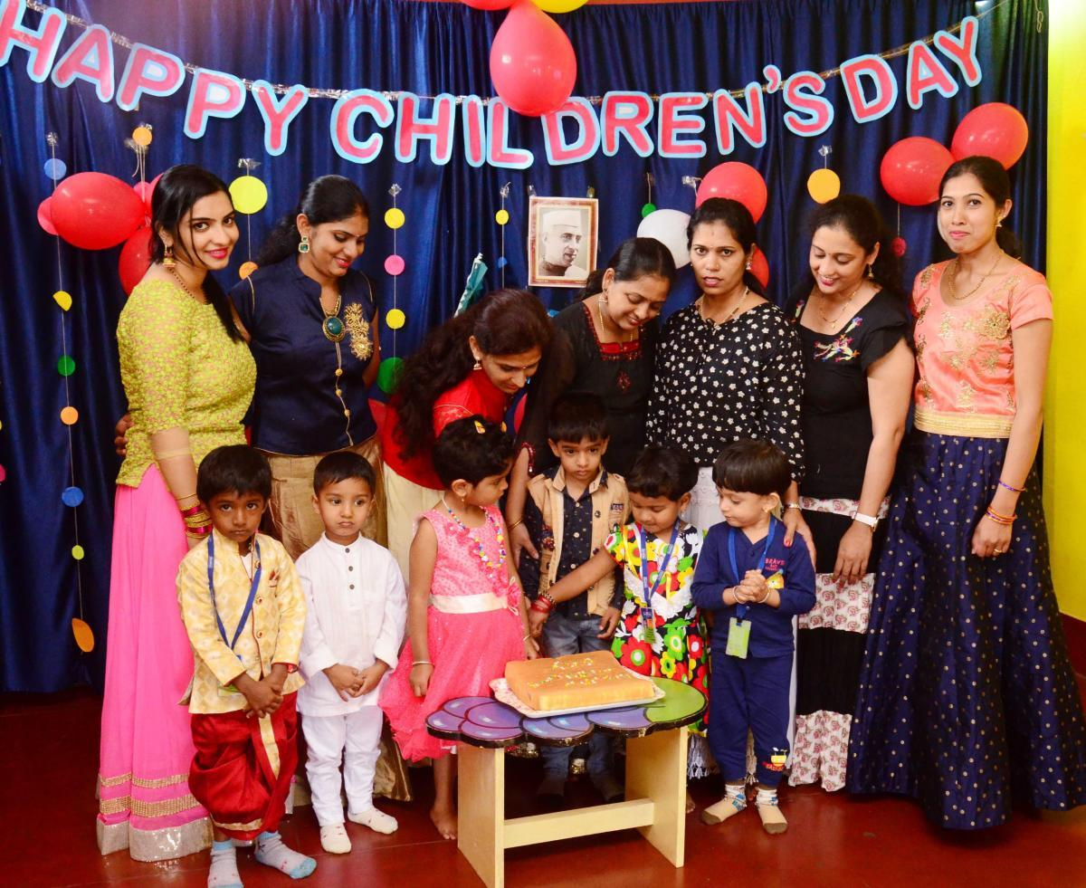 Kids' day out on Children's Day