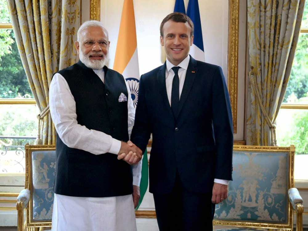 India, France to boost strategic ties in Indian Ocean