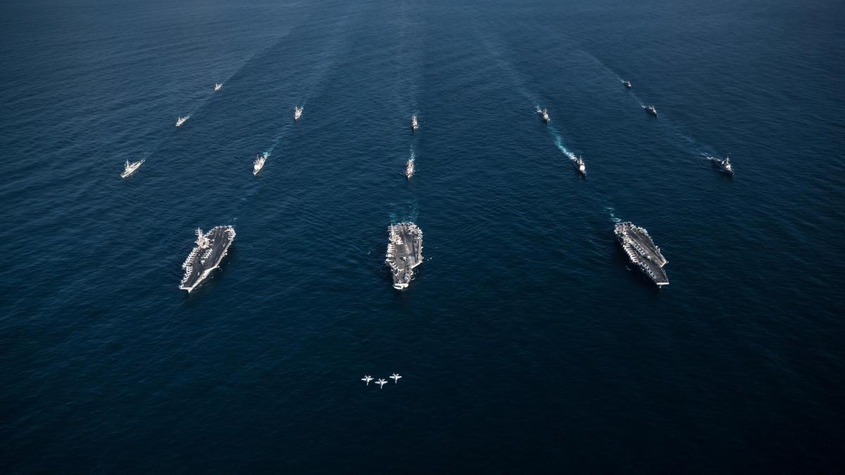 Japan, US stage naval drill amid N Korea tension