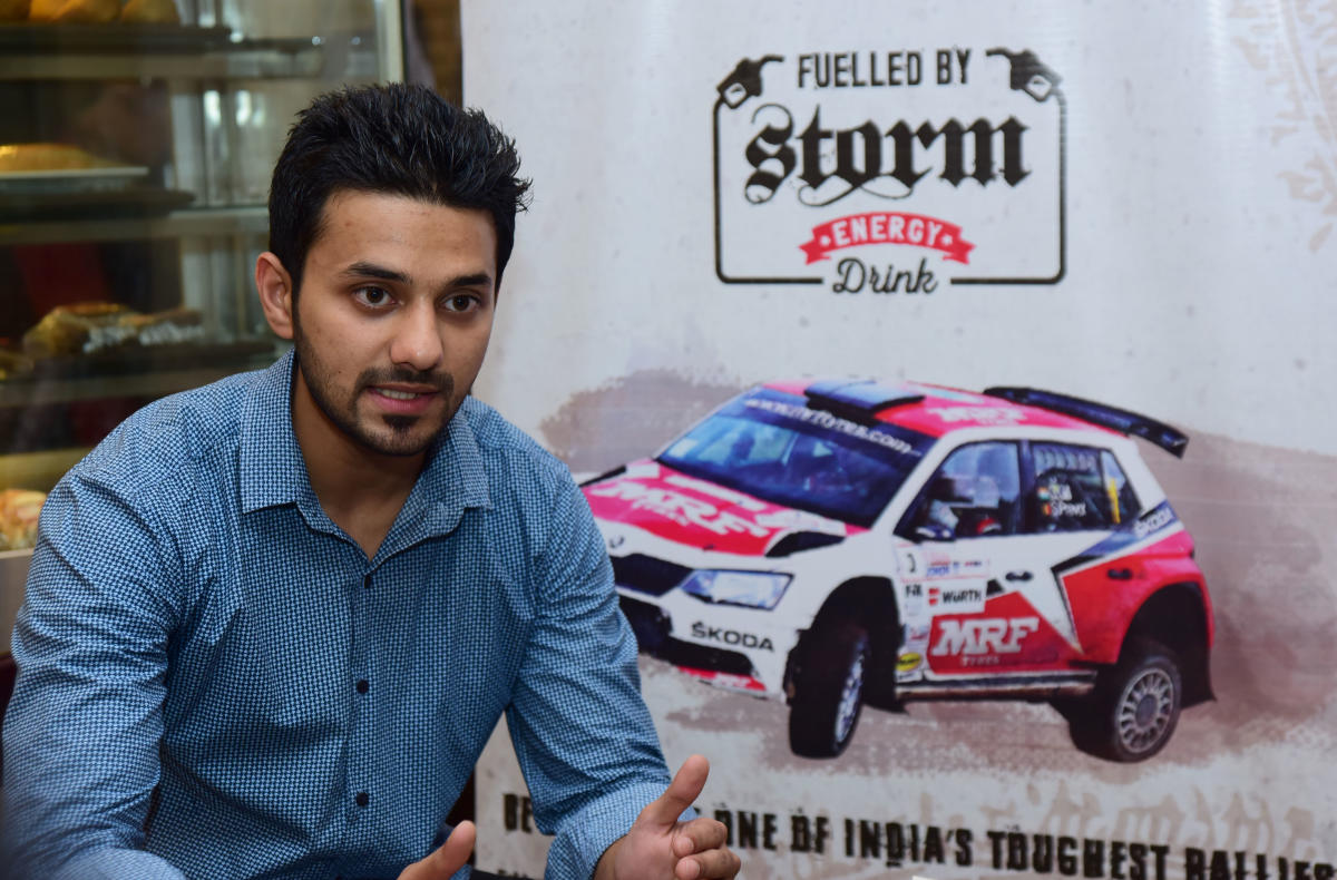 Mangaluru lad to take part in Coffee Day India rally