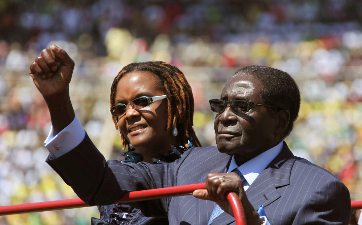 Fall from Grace: Mugabe's wife was his weakness