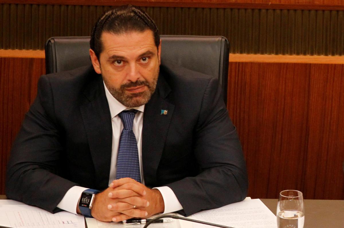Lebanon's Hariri lands in Paris