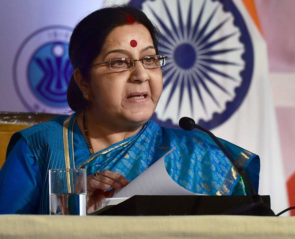 Sushma asks envoy to get body with Emerald Star jacket exhumed