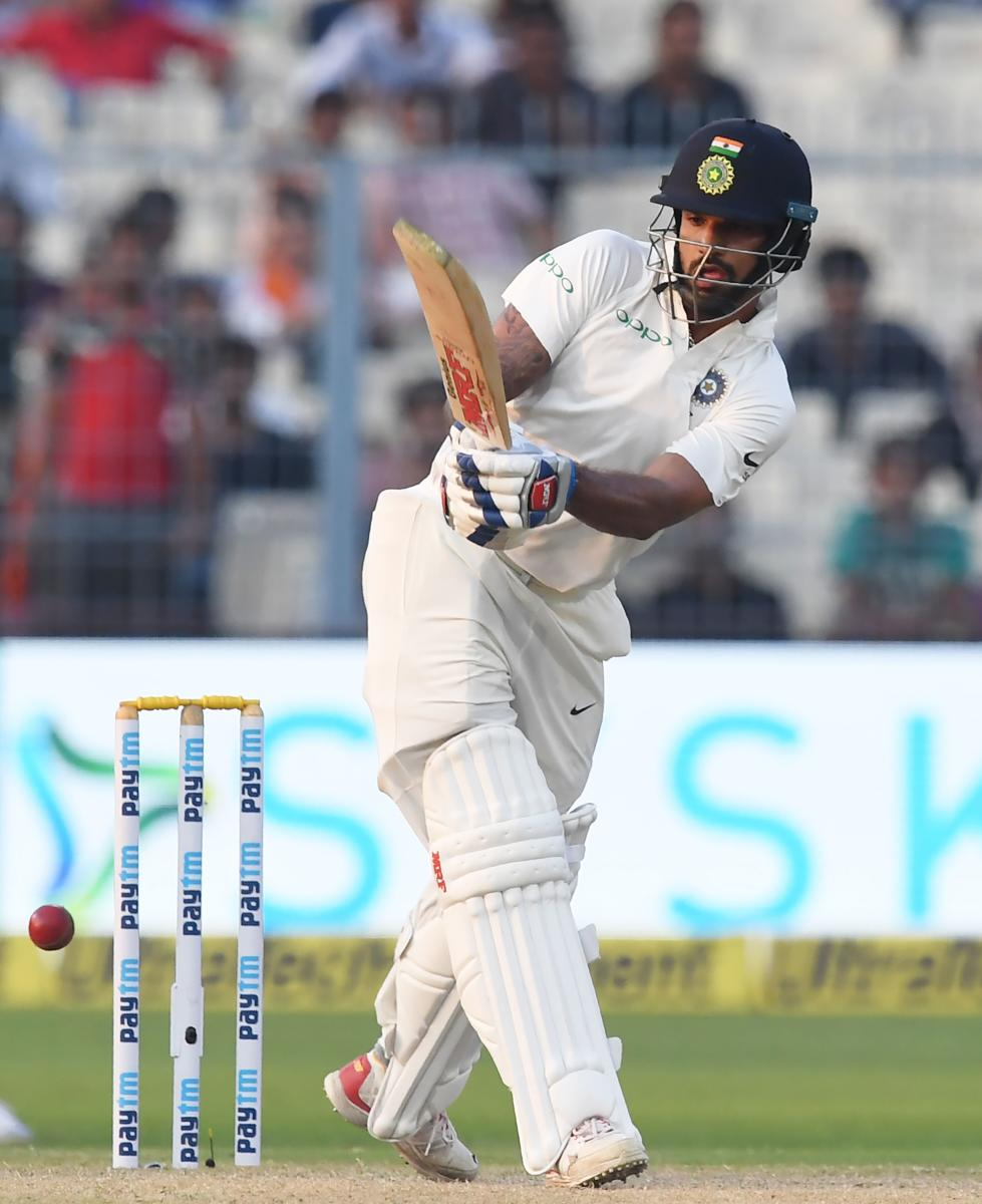 Dhawan, Rahul lead Indian fightback
