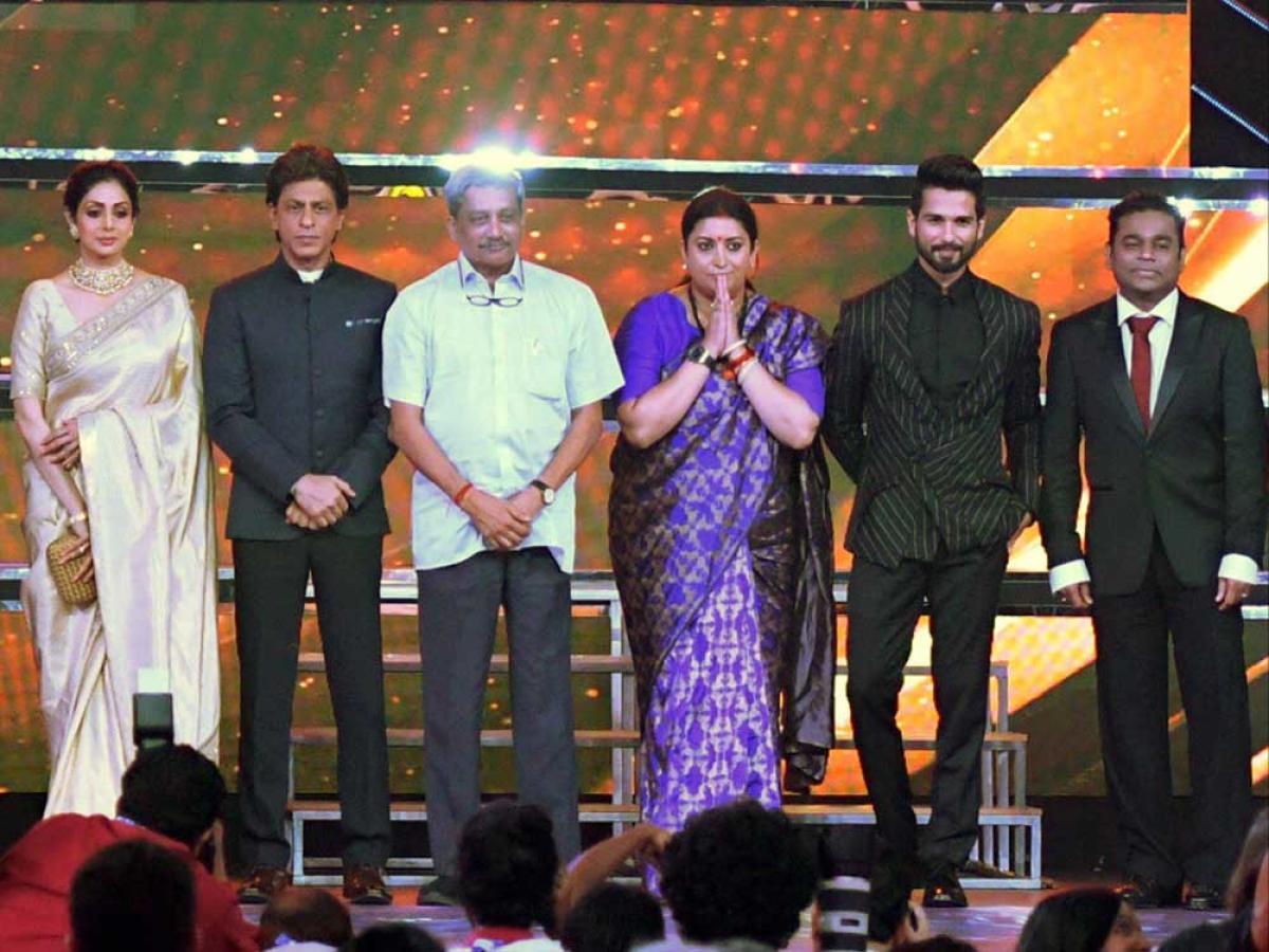 IFFI 2017: Sridevi inaugurates Indian Panorama