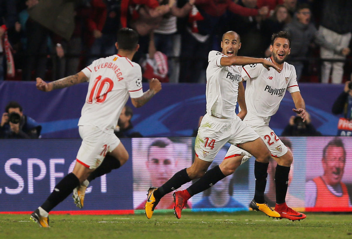 Real cruise into last 16; Liverpool blow three-goal lead at Sevilla