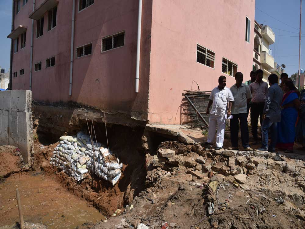 Hebbal drain work causes jitters among residents