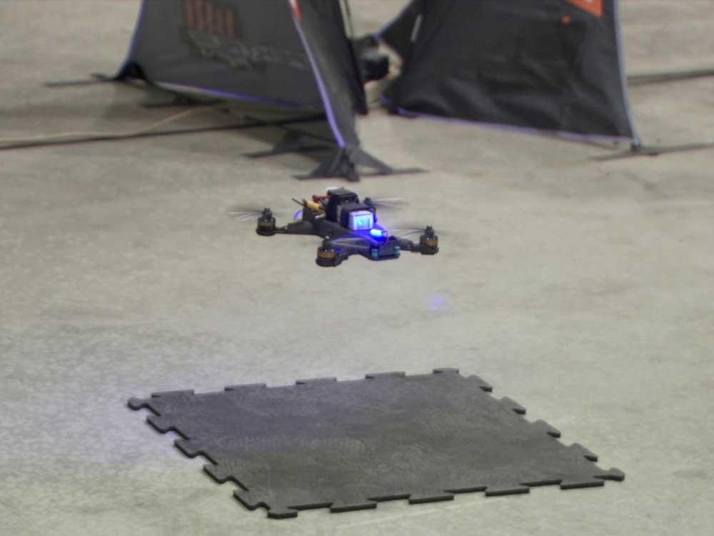 NASA drone race: human beats machine (Video)