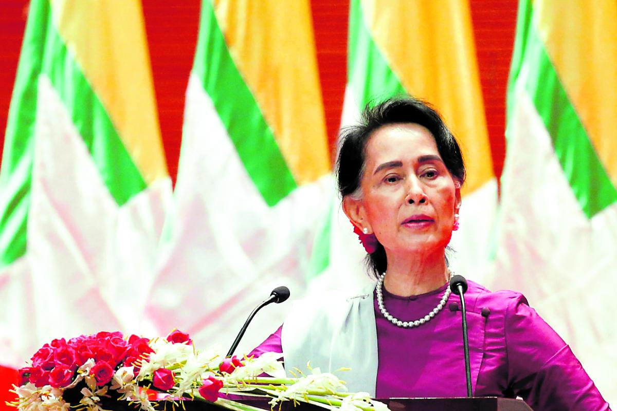 Suu Kyi meets Bangladesh minister over Rohingya repatriation